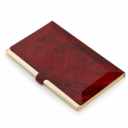 Vibrant Personalized Business Card Case