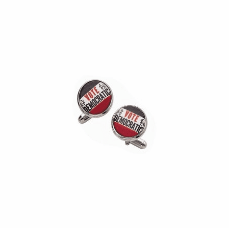 Vote Democratic Cuff Links