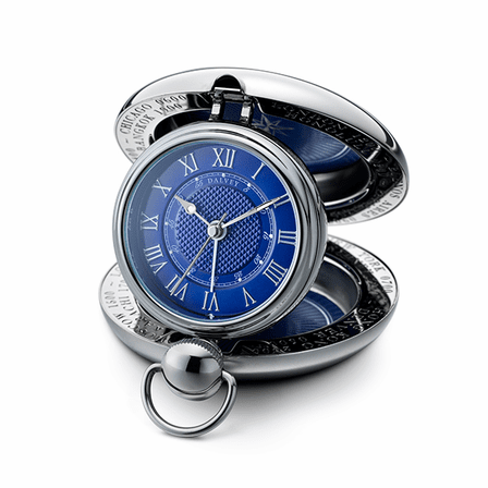 Voyager Travel Alarm Clock by Dalvey
