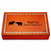 Wall Street Personalized Dominoes Set - Discontinued