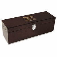 Wedding Party Single Bottle Wine Presentation Box with Tools
