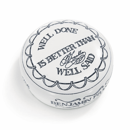 Well Done/Well Said Desktop Paperweight