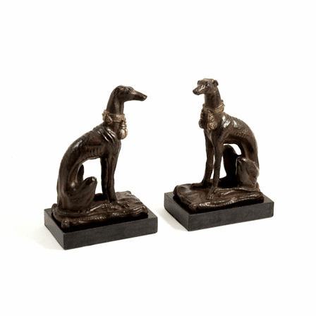 Whippet Dog Bookends