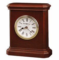 Windsor Cherry Wood Carriage Clock by Howard Miller