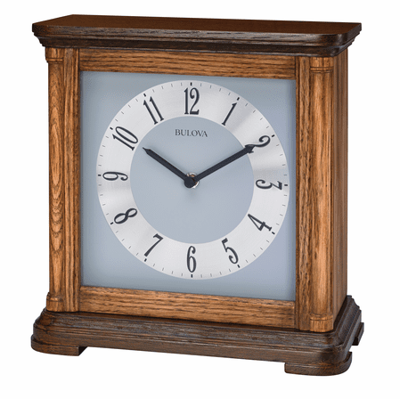 Woodbury Chiming Table Clock by Bulova