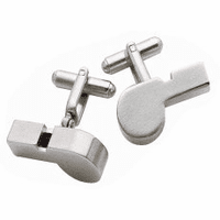 Working Whistle Cufflinks - Discontinued
