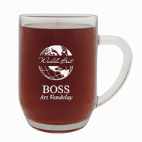 World's Best Boss  20 Ounce Barrel Mug with Handle