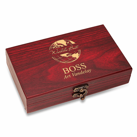 World's Best Boss  Cards & Dice Set