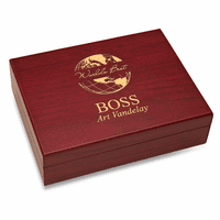 World's Best Boss  Golfball Case