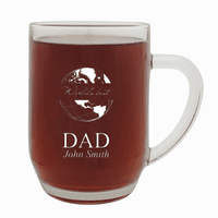 World's Best Dad  20 Ounce Barrel Mug with Handle