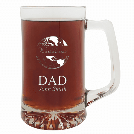 World's Best Dad 25 Ounce Beer Mug
