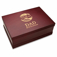 World's Best Dad  Desktop Keepsake Box