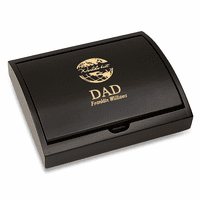 World's Best Dad  Pen and Card Case Gift Set - Free Personalization