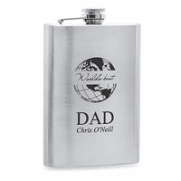 World's Best Dad  Stainless Steel Flask