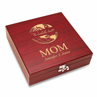 World's Best Mom  Flask & Gaming Set