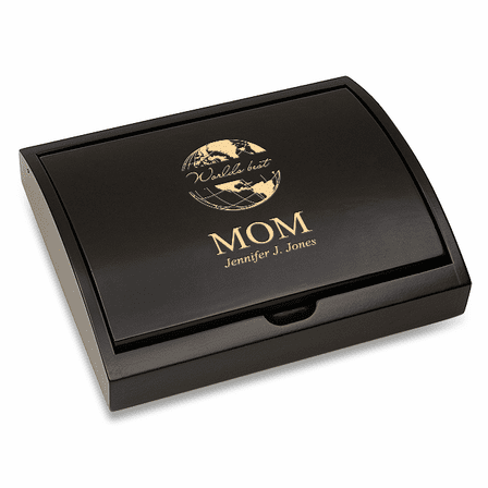 World's Best Mom  Pen and Card Case Gift Set