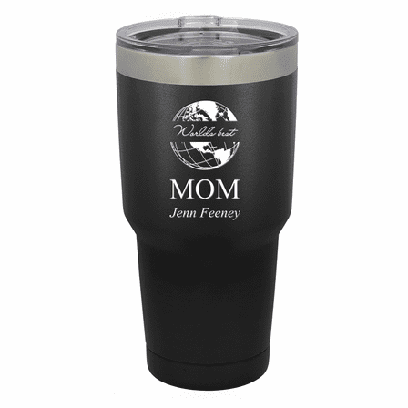World's Best Mom Personalized 30 Ounce Tumbler