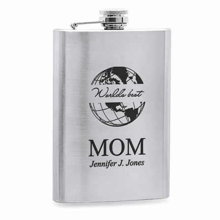 World's Best Mom  Stainless Steel Flask