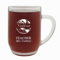World's Best Teacher  20 Ounce Barrel Mug with Handle