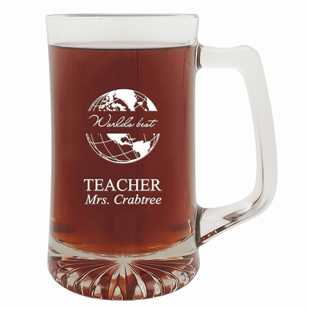 World's Best Teacher  25 Ounce Sports Mug