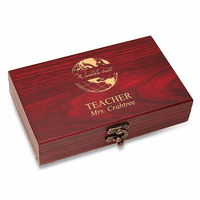 World's Best Teacher  Cards & Dice Set