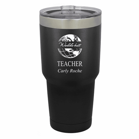 World's Best Teacher Personalized 30 Ounce Tumbler