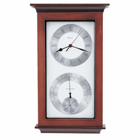 Yarmouth Weather Station Wall Clock By Bulova