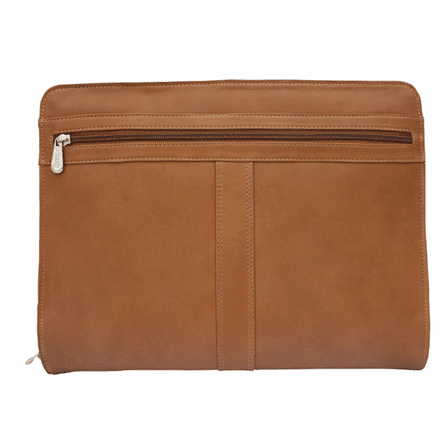 Zippered Leather Envelope Padfolio by Piel