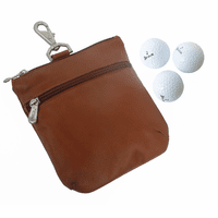 Zippered Valuables Golf Pouch