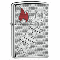 Zippo Bolted Armor High Polish Chrome Zippo Lighter - ID# 20991 - Discontinued