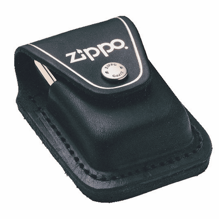 Zippo Lighter Pouch with Loop - Black