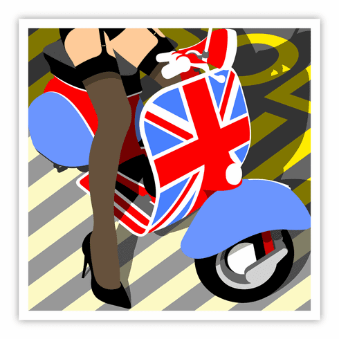 VESPA by Peter Stanick