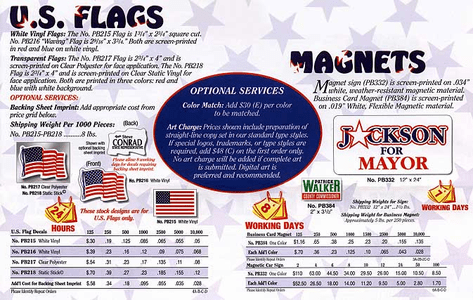 Flags & Magnets