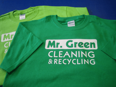 Green Short Sleeve T-shirts