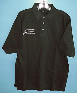 Logo Printed Golf Shirt