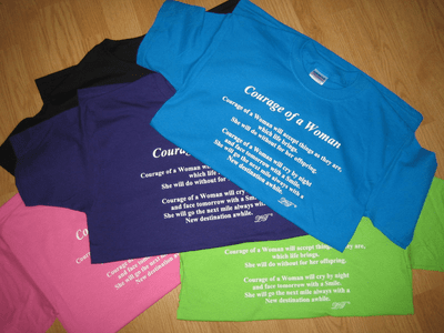 Poetry T-shirts