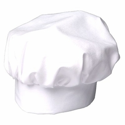 * Adult Chef Hat, White by Gourmet Classics