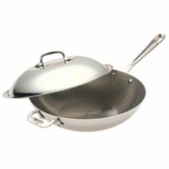 * All-Clad Stainless 12-Inch Chef's Pan with Lid