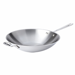 All-Clad Stainless 14-Inch Open Stir Fry Pan