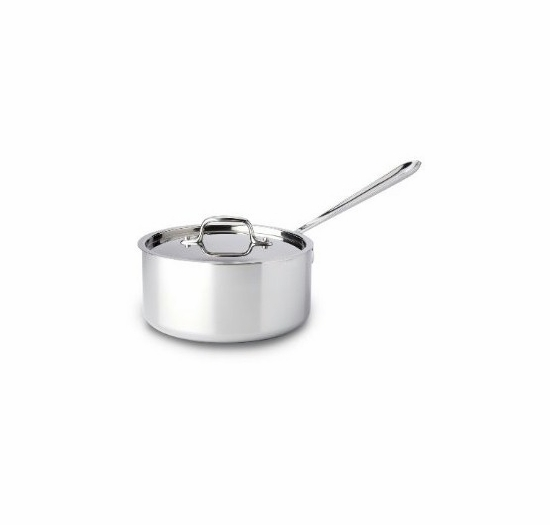 * All-Clad Stainless 3 Quart Sauce Pan with Lid