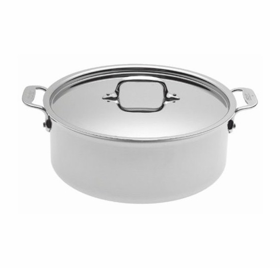All-Clad Stainless 6-Quart Stockpot with Lid