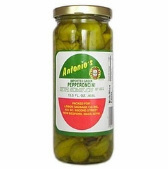 Antonio's Imported Greek Pepperoncini 15.5 oz.