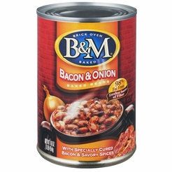 B&M Baked Beans with Bacon and Onion 28 oz.