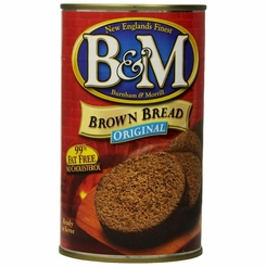 B&M Brown Bread Original (Plain) 16 oz.