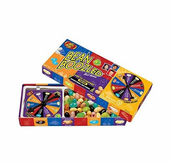 BeanBoozled Jelly Beans 4th Edition Spinner Gift Box 3.5 oz.