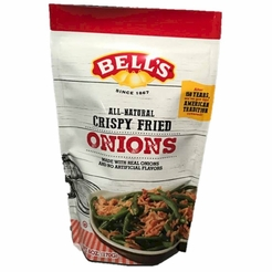 * Bell's All-Natural Crispy Fried Onions 6 oz.
