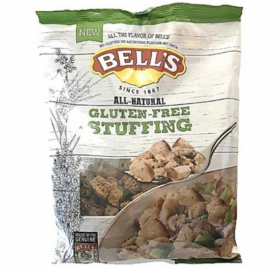 Bell's All-Natural Gluten Free Stuffing 8 oz.