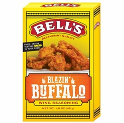 Bell's Blazin' Buffalo Wing Seasoning 1.6 oz.