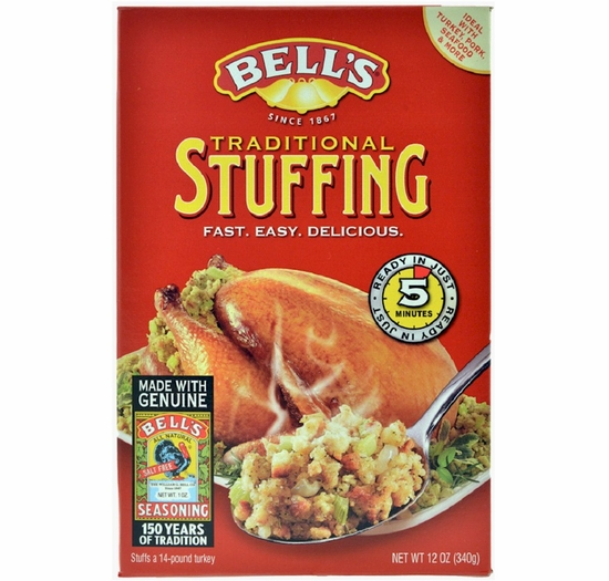 Bell's Ready-Mixed Stuffing 12 oz.