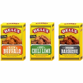 * Bell's Wing Seasonings Variety 3 Pack